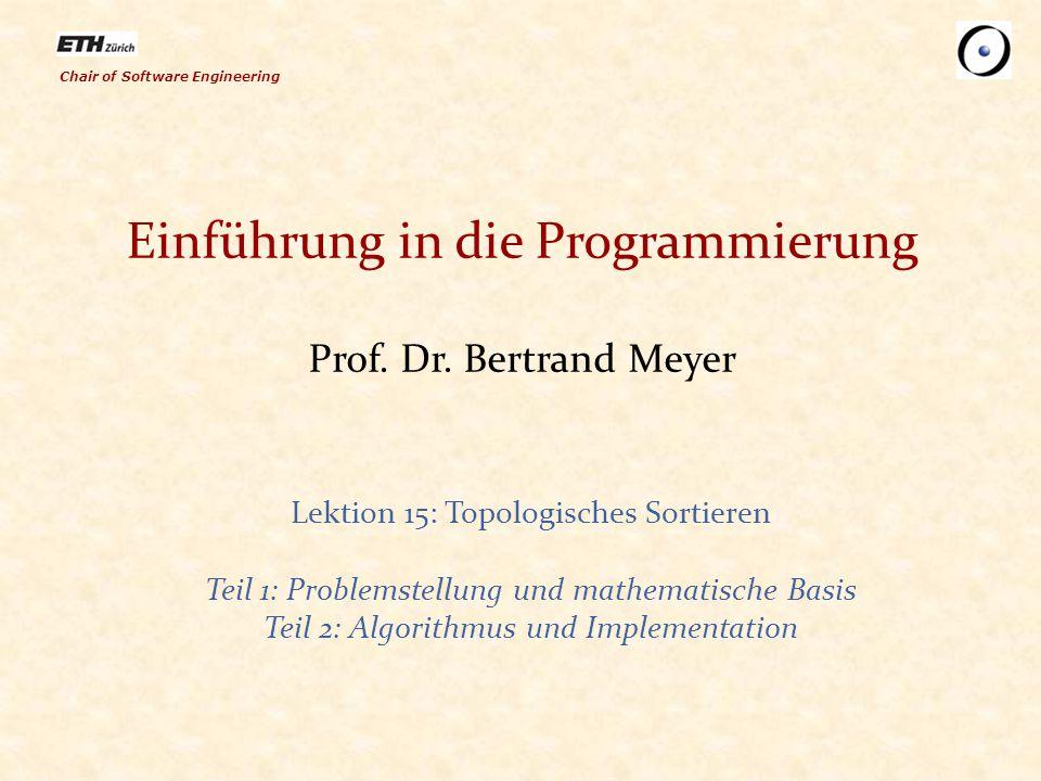 """82 Einen """"Kandidaten finden (Element ohne Vorgängern) sortiere do from create {...} sequenz."""