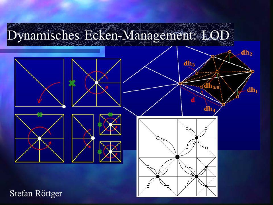 Dynamisches Ecken-Management: LOD Stefan Röttger