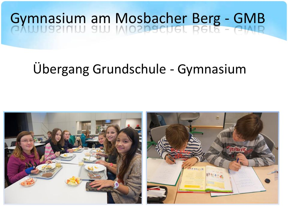 Übergang Grundschule - Gymnasium