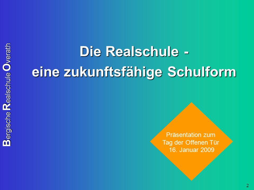 B ergische R ealschule O verath 13 Förderverein der BRO -finanzielle Rückendeckung für die Schule -z.B.