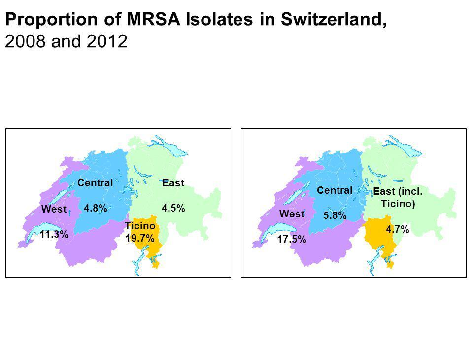 Antibiotikaeinsatz bei ambulanten Patienten in DDD: Schweiz 2007 Achermann R et al.