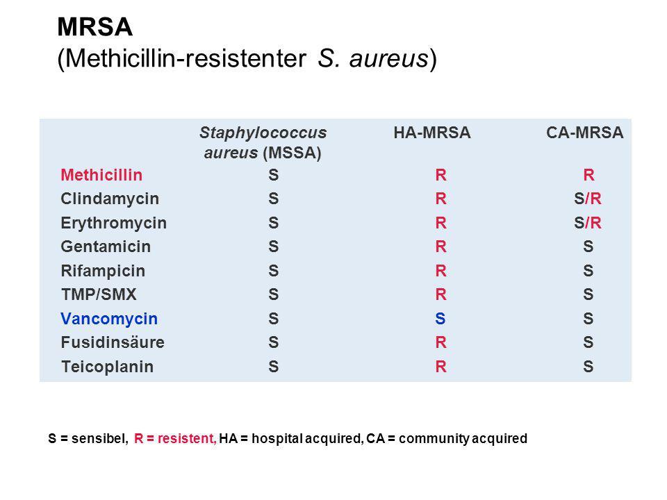 Schweiz: stabiler Anteil an resistenten M.