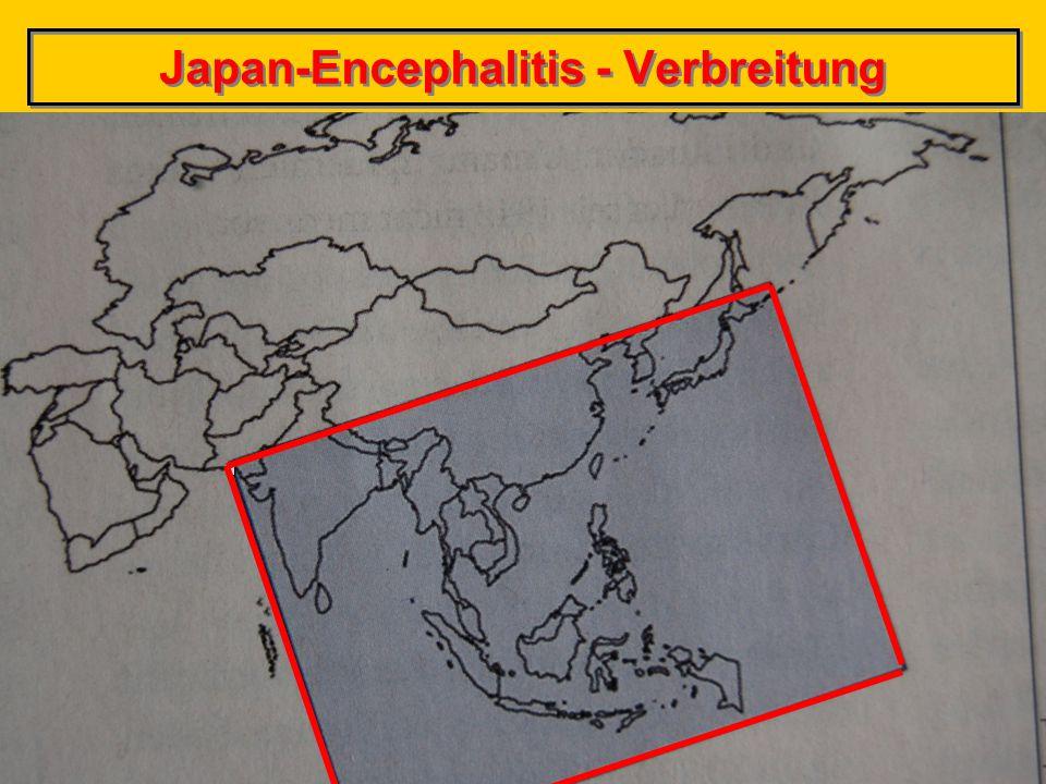 © Dr. Peter Schröder, 2014 17 Japan-Encephalitis - Verbreitung
