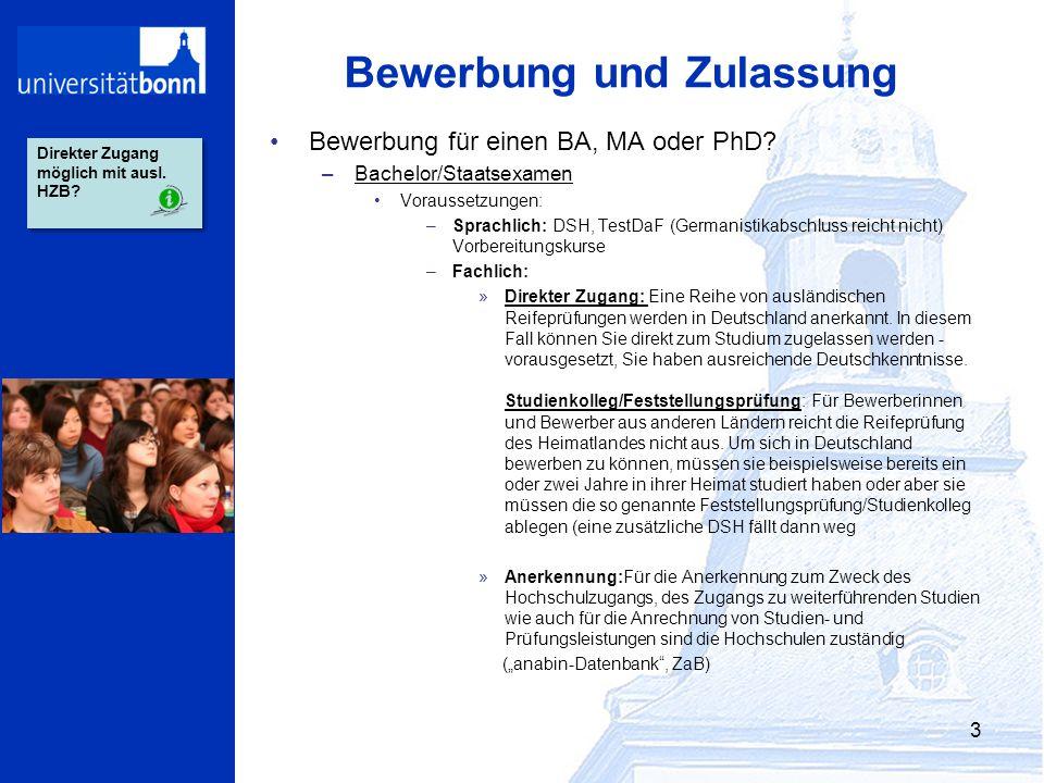 """Einführung In Das Deutsche Hochschulsystem Teil 2: """"Studium In"""