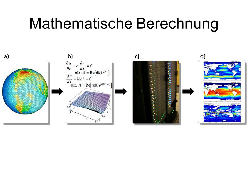 Mathematische Berechnung