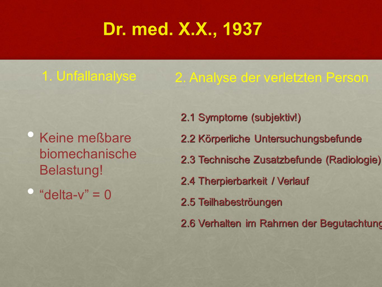 2.1 Symptome (subjektiv!) 2.2 Körperliche Untersuchungsbefunde 2.3 Technische Zusatzbefunde (Radiologie) 2.4 Therpierbarkeit / Verlauf 2.5 Teilhabestr