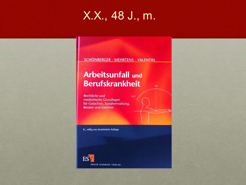 """Schönberger et al.: """"Arbeitsunfall und Berufskrankheit Vorteile dieses Buchs: Nachteile dieses Buchs: Umfassend und präzise Umfassend und präzise Standard Standard """"BG-Stallgeruch """"BG-Stallgeruch X.X., 48 J., m."""