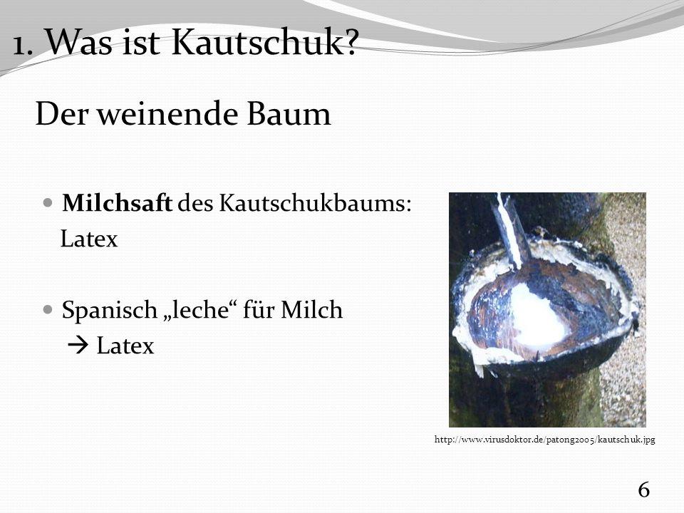 Versuch 3: Latex Koagulation Eingesetzte Chemikalien Verdünnte Latexmilch Verdünnte Ameisensäure HCOOH (aq) 17 3.
