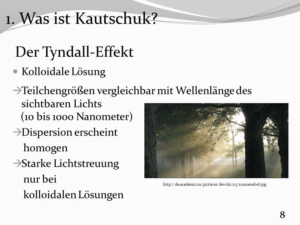 Demonstration 3: Dehnbarkeit Kautschuk vs.