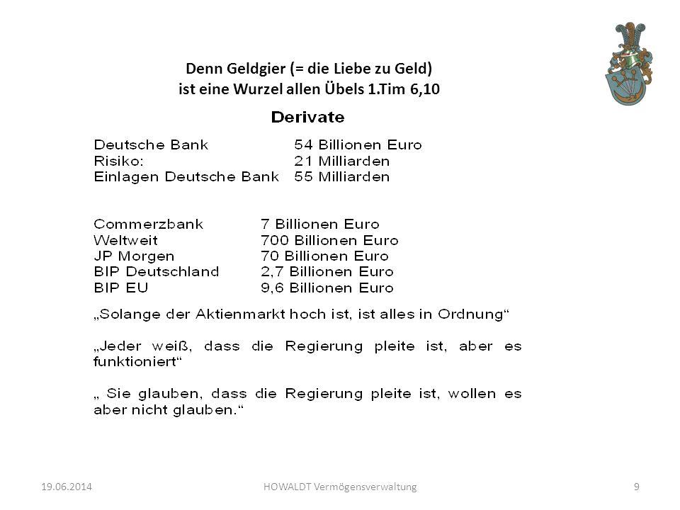 19.06.2014HOWALDT Vermögensverwaltung80
