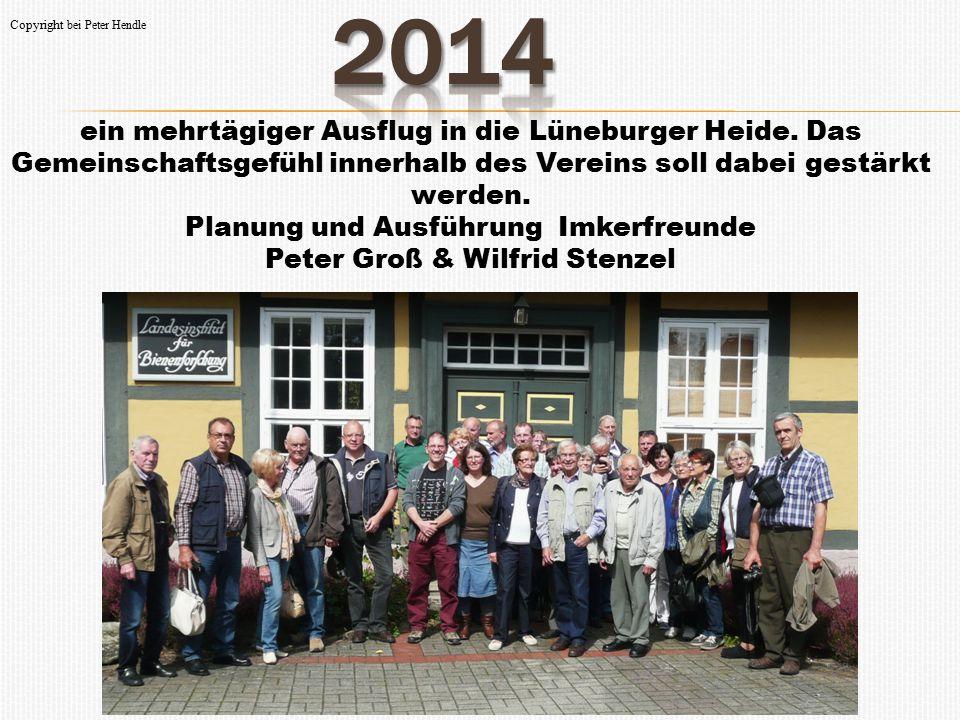 ein mehrtägiger Ausflug in die Lüneburger Heide. Das Gemeinschaftsgefühl innerhalb des Vereins soll dabei gestärkt werden. Planung und Ausführung Imke