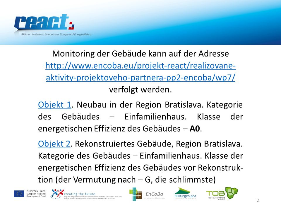 23 Elektrische Energie Gesamtverbrauch 11-12/2014 Verbrauch: 533,416 kWh Monitoringkonzept erfordert keine Messung des Gesamtenergiever- brauchs, jedoch, um die Anteile einzelner Kategorien zu ermitteln, wurde nachträglich auch der Gesamt- energiemesser installiert.