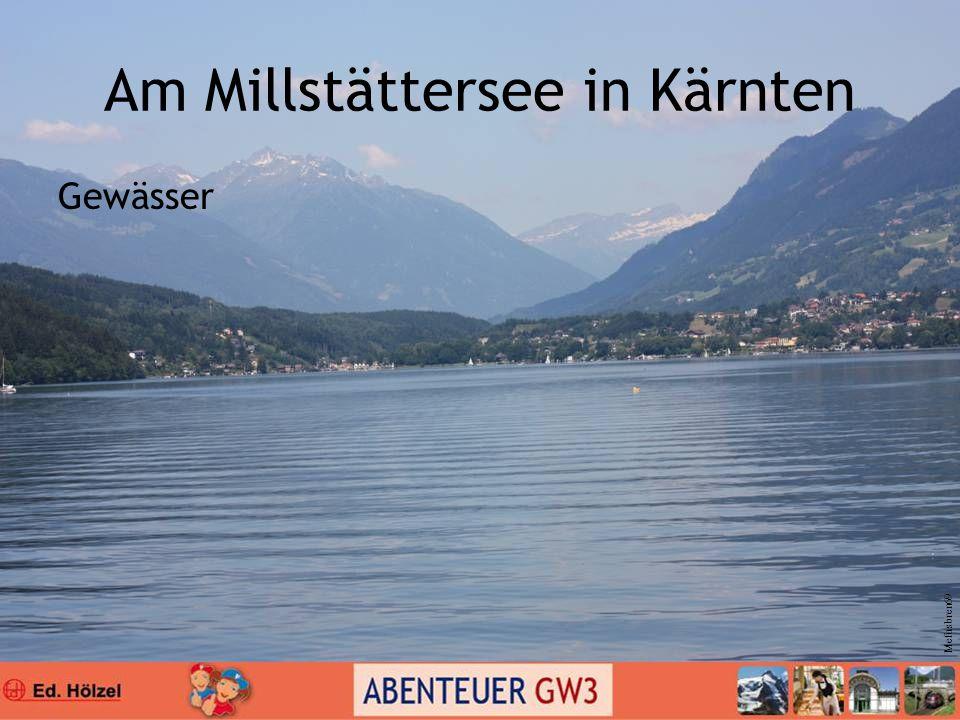 Am Millstättersee in Kärnten Gewässer Mefusbren69