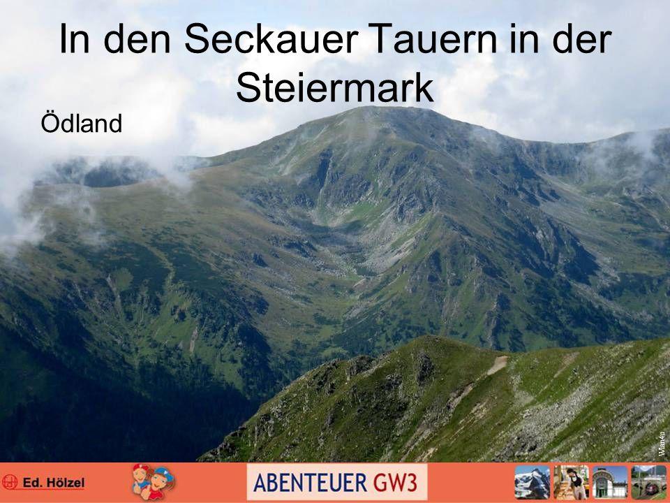 In den Seckauer Tauern in der Steiermark Ödland Wlan4u