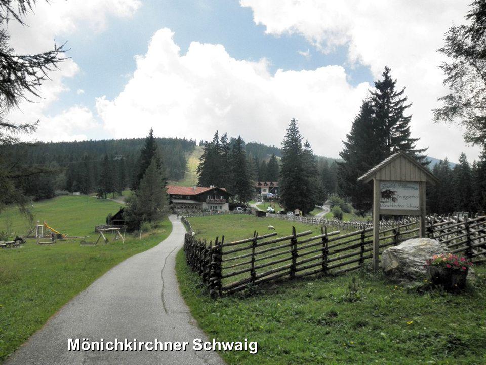 DerWechsel ist ein Mittelgebirge im Osten Österreichs mit dem Hochwech- sel (1743 m ü.