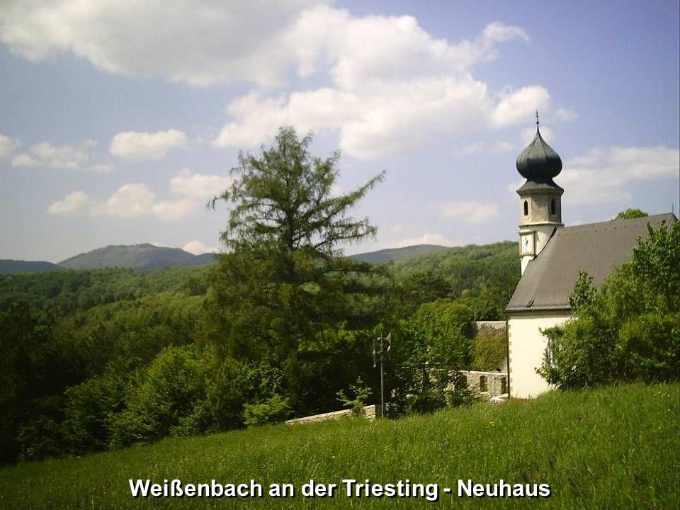 Weißenbach an der Triesting – Neuhaus (Wohnhaus)