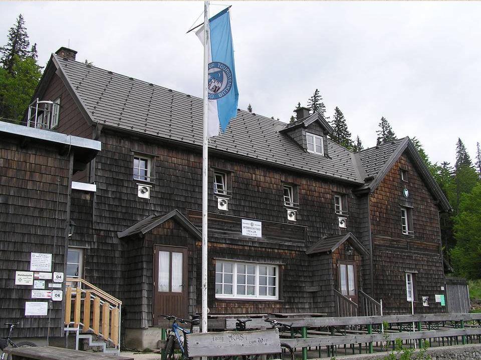 Der Unterberg ist mit einer Höhe vom 1342 m ü.A.