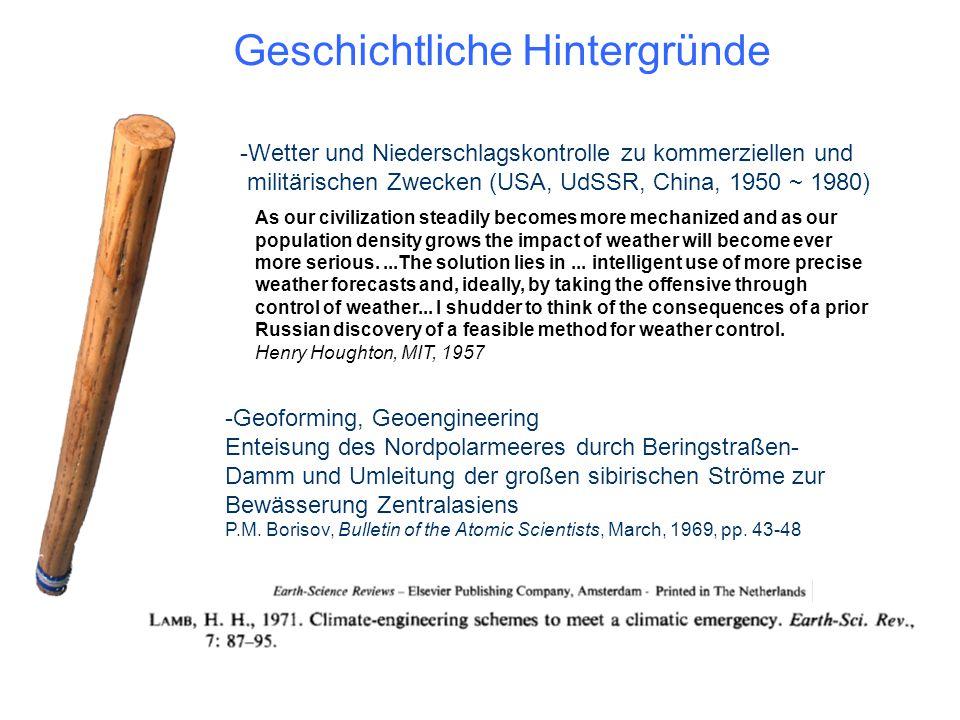 Geschichtliche Hintergründe -Geoforming, Geoengineering Enteisung des Nordpolarmeeres durch Beringstraßen- Damm und Umleitung der großen sibirischen S