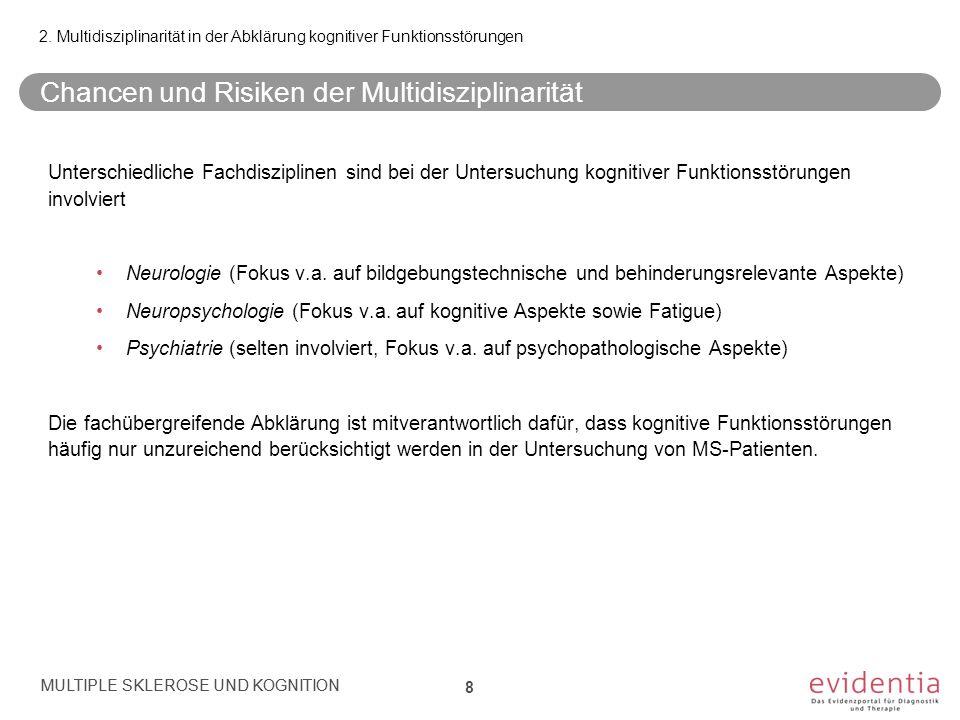 Referenzen (2) MULTIPLE SKLEROSE UND KOGNITION Referenzen/2 Kern et al.