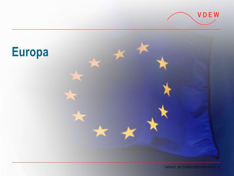Verband der Elektrizitätswirtschaft e. V. Europa