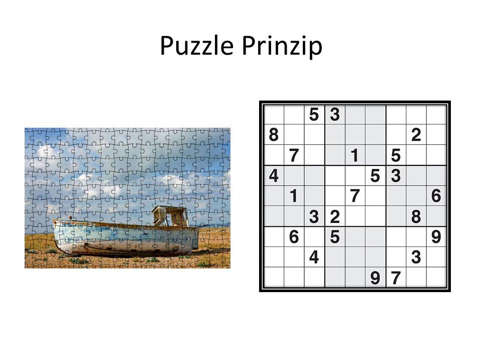 Puzzle Prinzip