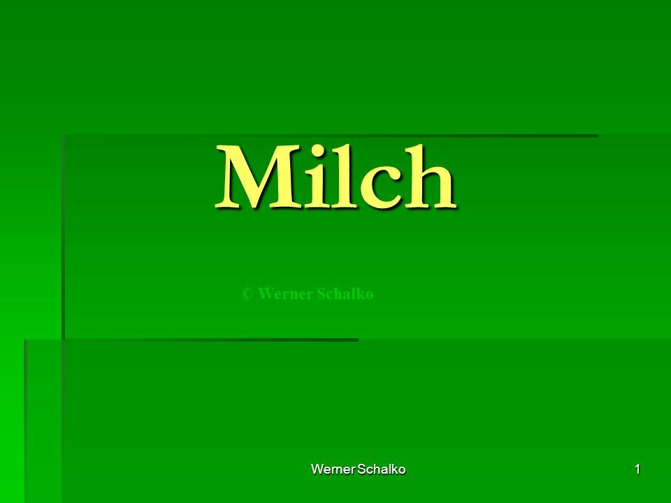 Werner Schalko1 Milch © Werner Schalko