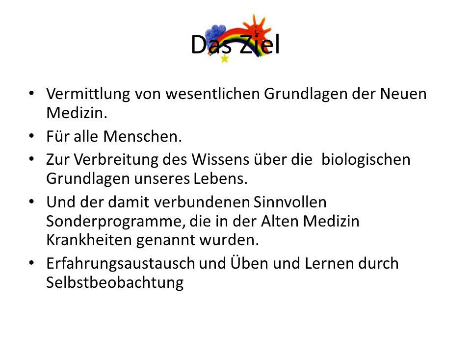 Literatur und Quellen Eine kommentierte Literaturliste zur Neuen Medizin wird im Studienkreis und in den Seminaren ausgegeben.