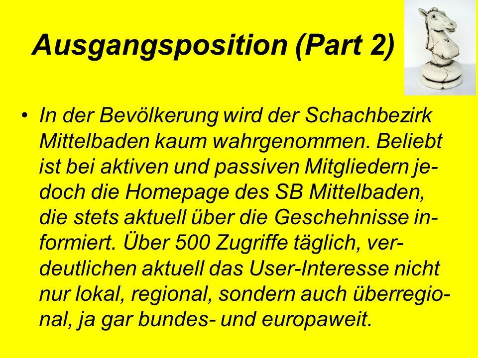 Ausgangsposition (Part 3) In den vergangenen Jahren hatten und haben gegenwärtig, zunehmend auch Traditionsvereine ums 'Überleben' zu kämpfen.