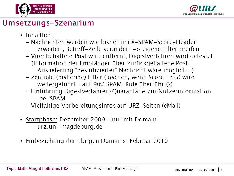 9URZ-Info-Tag 29.09. 2009 End-User-Portal…Jeder kann es selbst … Dipl.-Math.