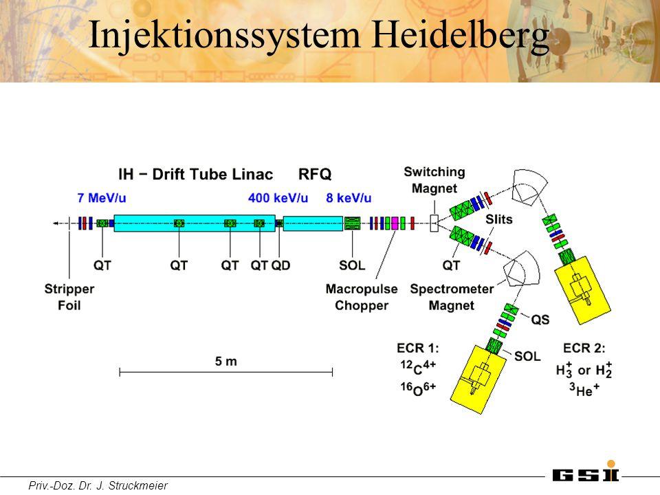 Priv.-Doz. Dr. J. Struckmeier Injektionssystem Heidelberg