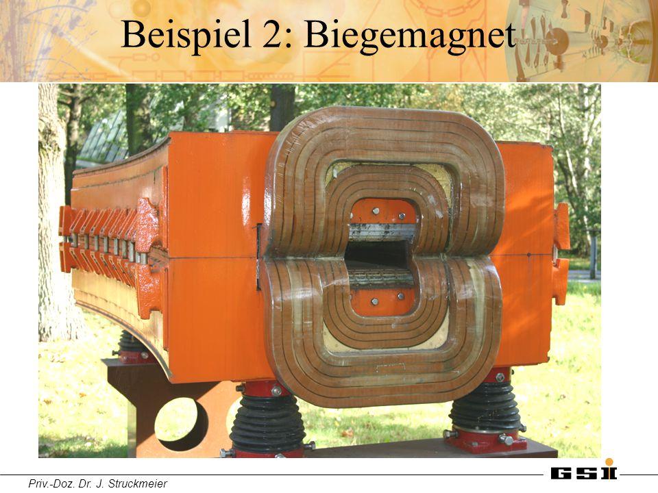 Priv.-Doz. Dr. J. Struckmeier Beispiel 2: Biegemagnet