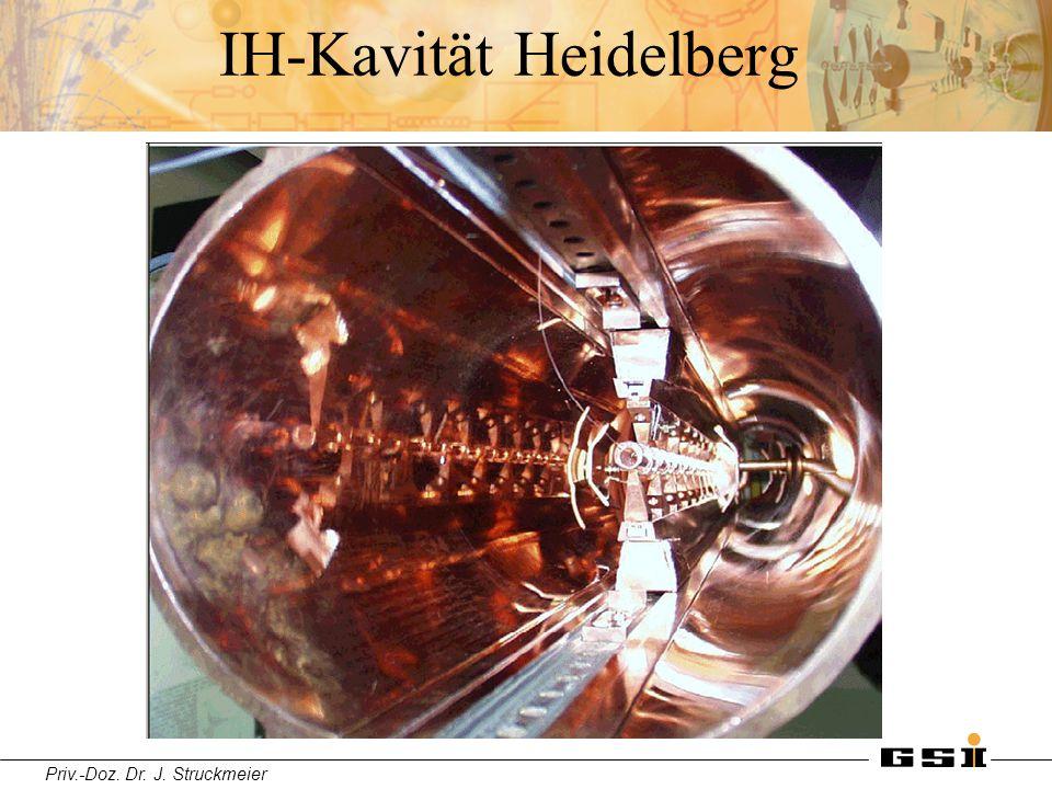 Priv.-Doz. Dr. J. Struckmeier IH-Kavität Heidelberg