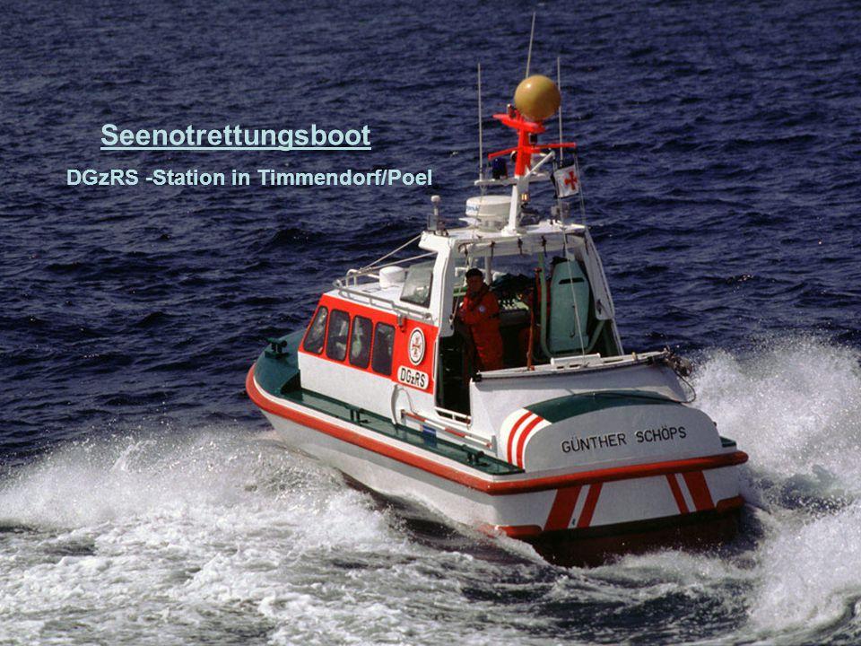 Seenotrettungsboot Insel Baltrum stationiert