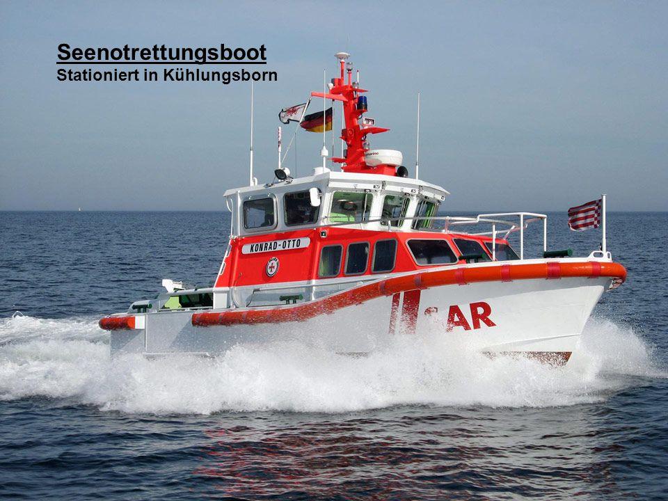 Seenotrettungsboot DGzRS-Station in Hörnum auf der Insel Sylt.