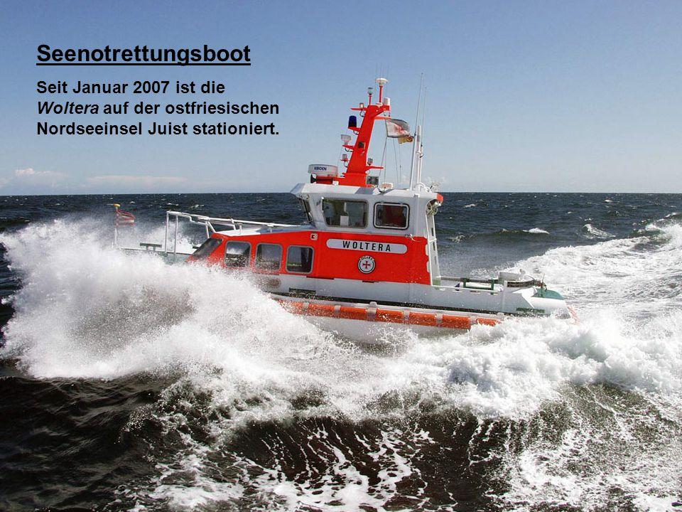 Seenotrettungsboot DGzRS - Station in Glowe.