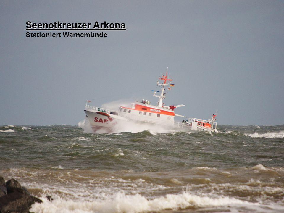 Seenotkreuzer Arkona Stationiert Warnemünde