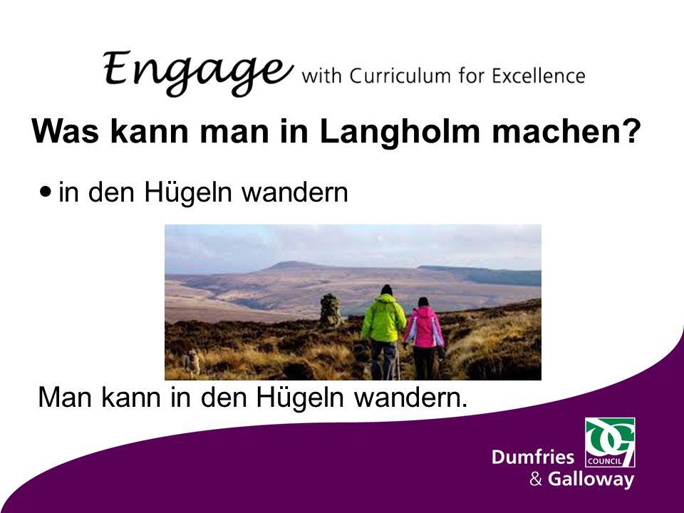 Was kann man in Langholm machen in den Hügeln wandern Man kann in den Hügeln wandern.