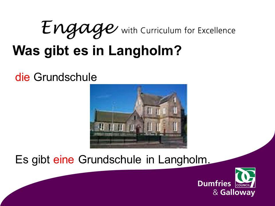 Was gibt es in Langholm die Grundschule Es gibt eine Grundschule in Langholm.