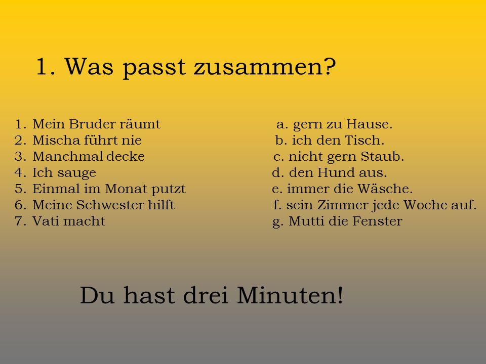 Nemecký jazyk Projekt Deutsch 4 Lektion 2