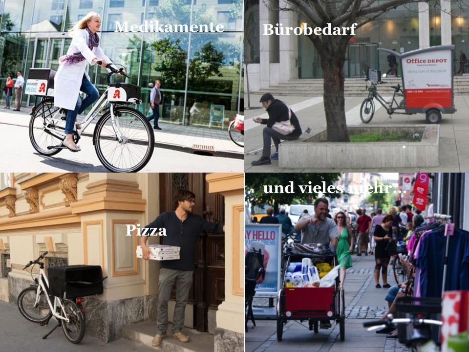 Pizza Pharmacy bike Medikamente Bürobedarf und vieles mehr…