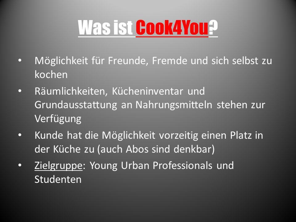 Warum Cook4You.