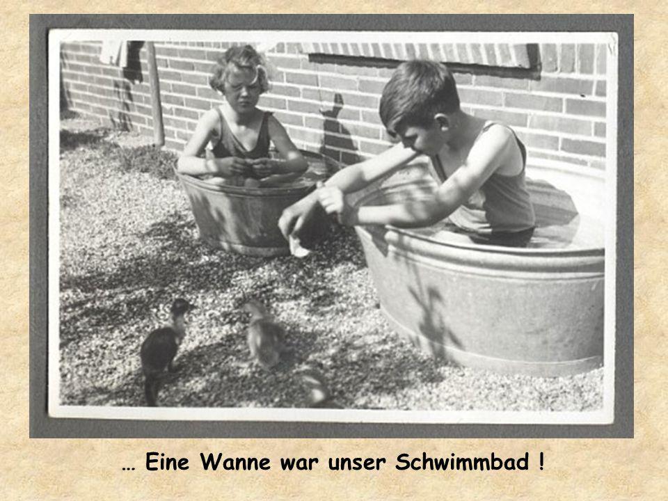 … Heißes Wasser kam auch nicht aus dem Wasserhahn !