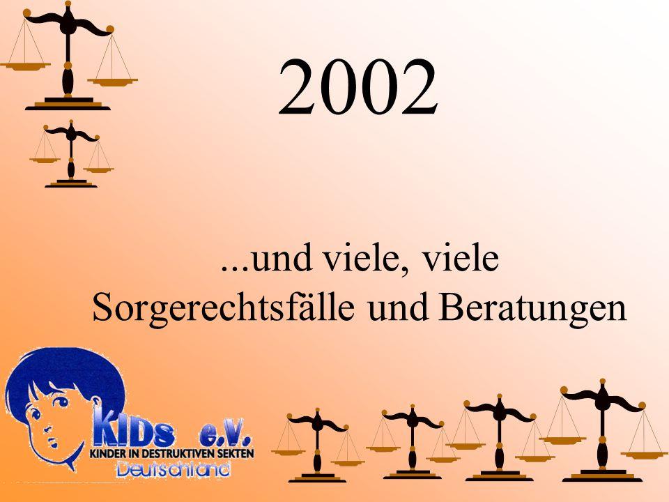 2002...und viele, viele Sorgerechtsfälle und Beratungen