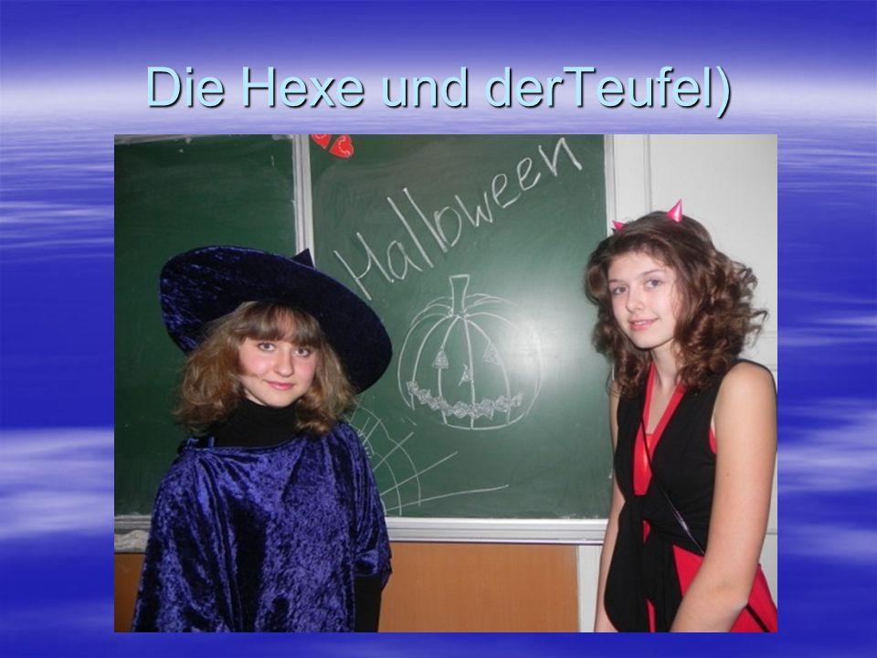 Die Hexe und derTeufel)