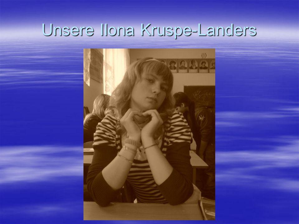 Unsere Ilona Kruspe-Landers