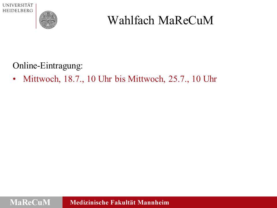 Landesprüfungsamt Universität Heidelberg Alle Angebote der Universität Heidelberg (Medizinische Fakultät sowie andere Fakultäten), die in einem Fach zu einem benoteten Leistungsnachweis führen (ausgenommen vorklinische und klinische Pflichtveranstaltungen aus dem Studiengang Medizin), können als Wahlfach für M 1 - neu - anerkannt werden.