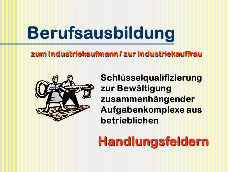 Prüfungsgestaltung Industriekaufmann/Industriekauffrau Modifizierte