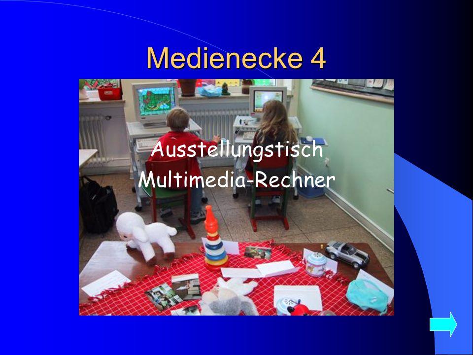 Medienecke 4 Ausstellungstisch Multimedia-Rechner