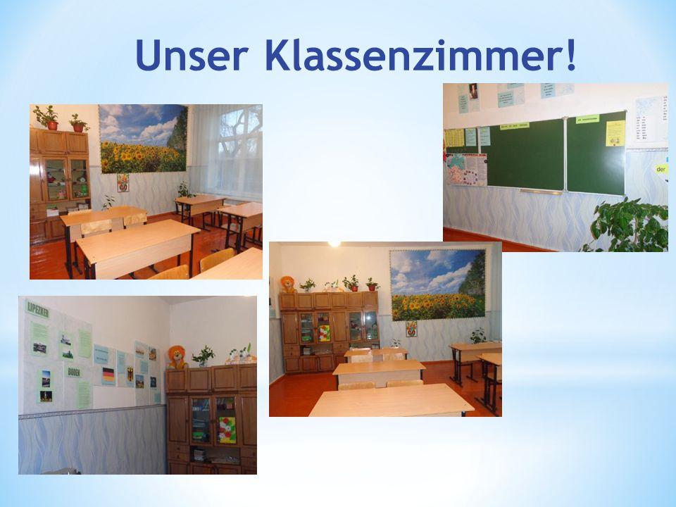 Unser Klassenzimmer!