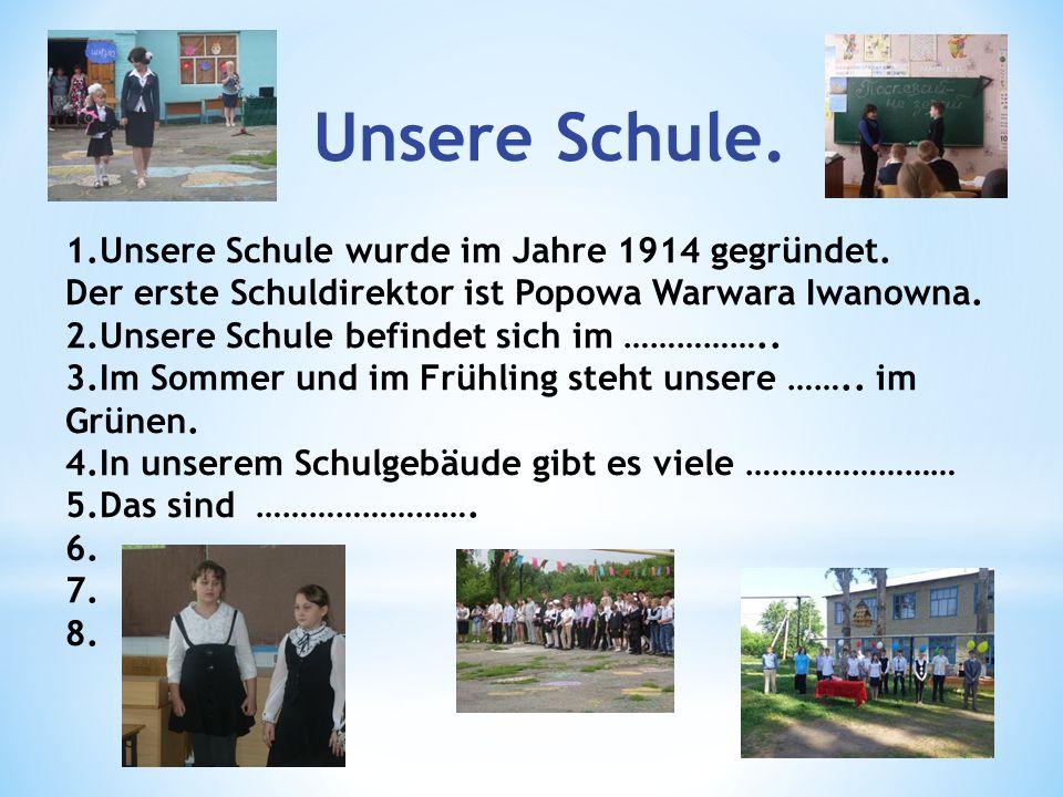 Unsere Schule.